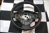 2012 2013 2014 2015 2016 2017 BMW F30 F31 320i 328d 330e 340i Leather Steering Wheel (cracked) 32306854753 OEM OE
