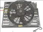 2002 2003 2004 2005 2006 2007 2008 BMW E65 E66 745Li 760Li A/C Condenser Fan with Compression Shroud 64547603657 ; 64546946372 OEM OE