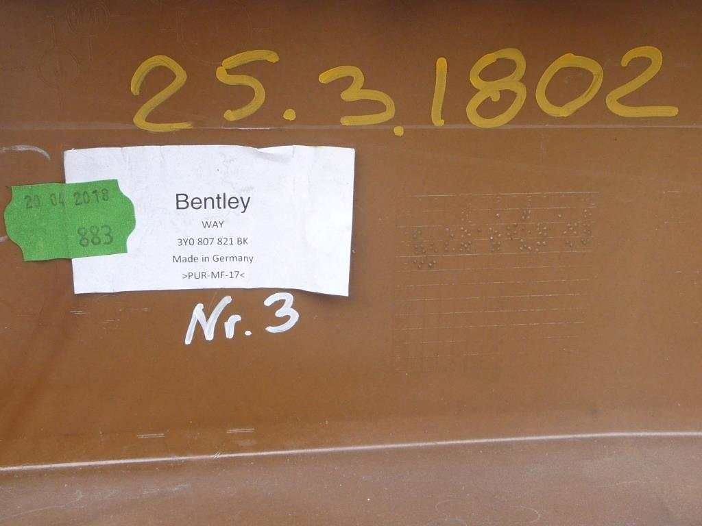 2017-2019 Bentley Mulsanne front bumper cover 3Y0807821BK ...