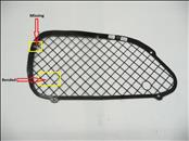 2000 2001 2002 2003 2004 2005 Ferrari 360 Challenge Modena Spider LH Left Driver Front Bumper Grille Grill 63330300 OEM OE