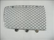 2020 Bentley Continental GT Front Right Passenger side Grille Mesh Chrome 3SD853684A OEM
