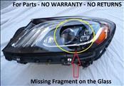 2017 2018 Mercedes Benz W222 S550 S600 Multibeam LED Headlight Left Driver Side 2229062105;  A2229062105 OEM OE