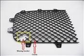2012 2013 2014 2015 2016 2017 2018 Bentley Continental GT GTC Front Grille Right Passenger side Mesh Black 3W3853684 OEM OE