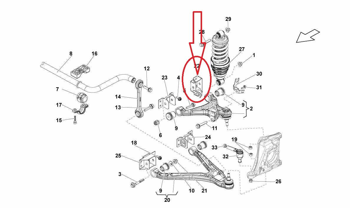 Audi R8 Lamborgini Gallardo Front Suspension Left Arm