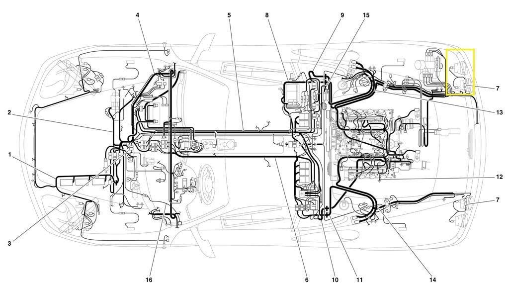 Ferrari 360 F131 Rear Light Connecting Cables 173429, #7